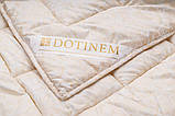 Одеяло летнее микрофибра двуспальное 145х210 см, фото 2