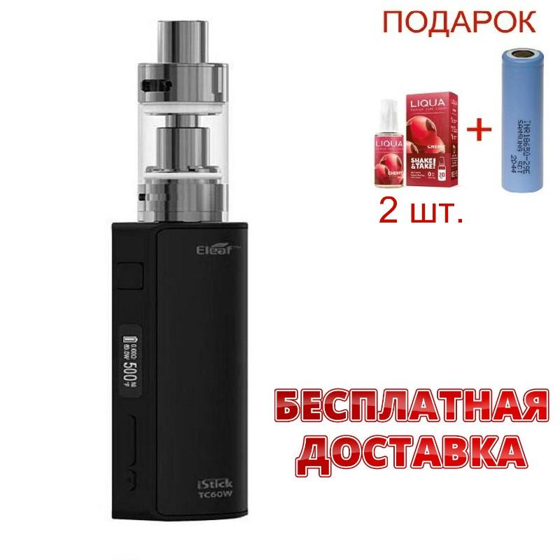 Электронная сигарета Eleaf iStick Pico TC 60w. Вейп iStick Pico TC 60w. Боксмод Ай стик пико 60Вт.