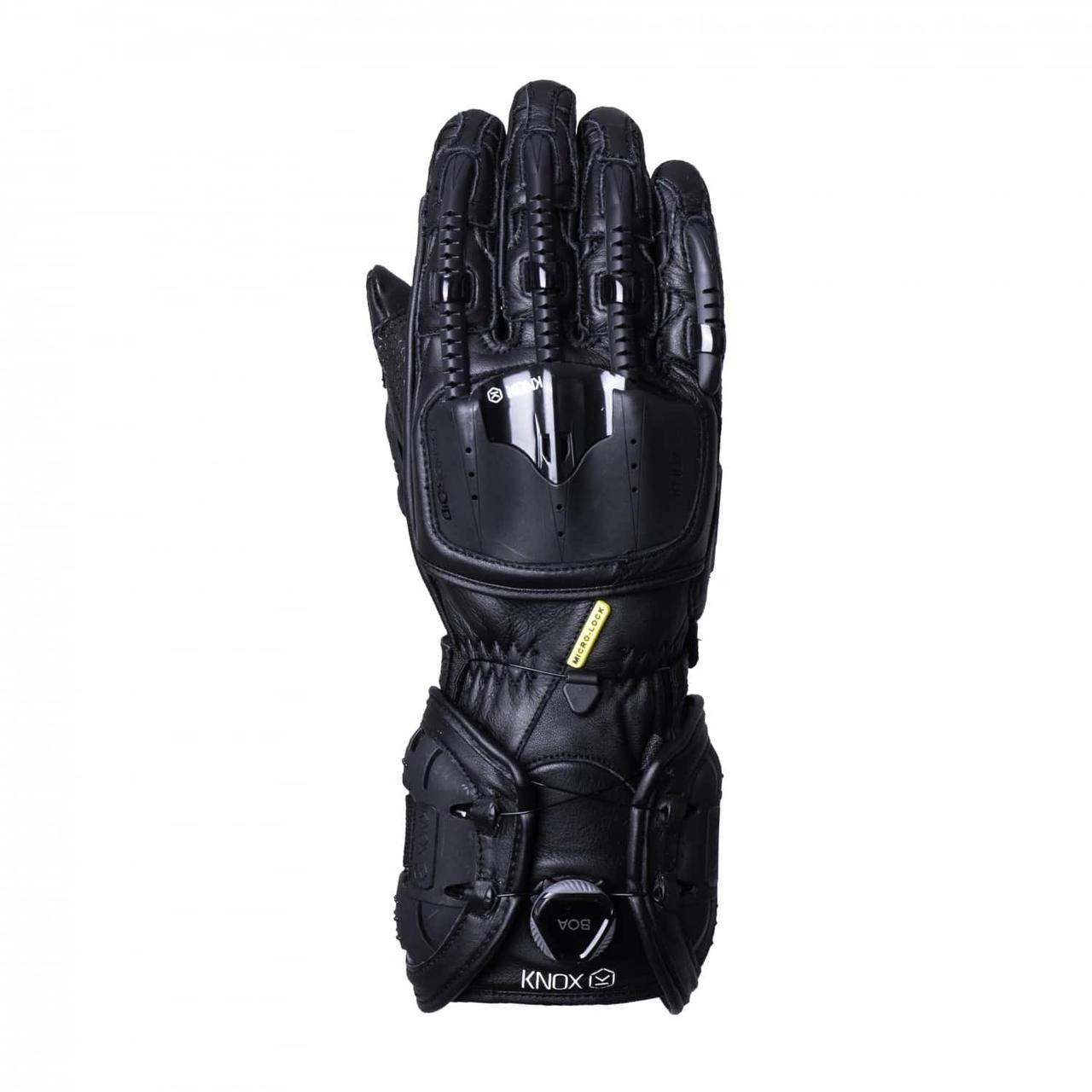 Мотоперчатки Knox Handroid All Black L