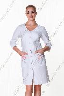 Халат женский Анжелика ткань сорочечна (рукав длинный)