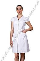 Халат женский Лилия ткань сорочечна (рукав короткий)