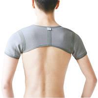 Бандаж на два плечевых сустава эластичный с ИК излучением Longevita