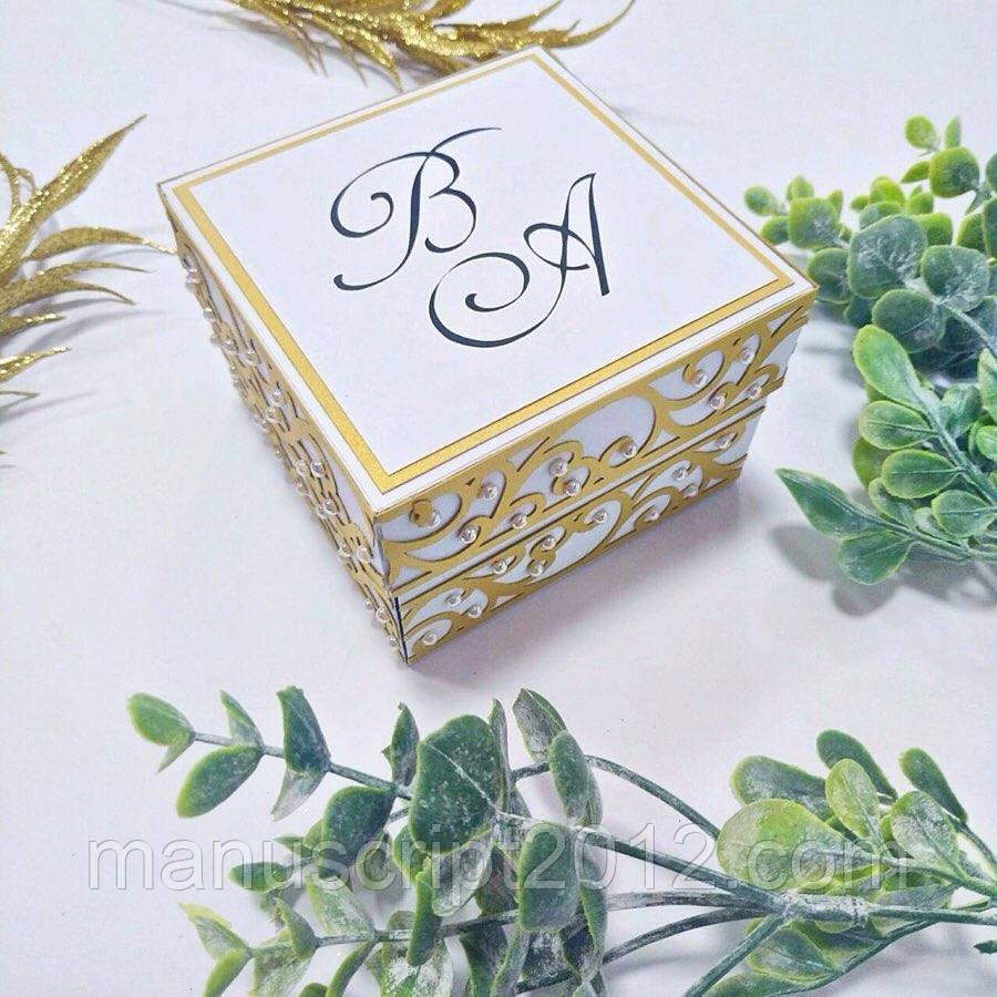 Весільна коробочка для грошей