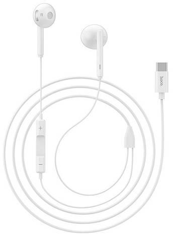Наушники Hoco L10 Acoustic Type-C с микрофоном Белый, фото 2