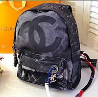 Рюкзак граффити брендовый, тканевый