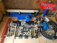 Комплект для установки гидравлики с навеской на мотоблоки и мини/мототрактора с гидроцилиндром