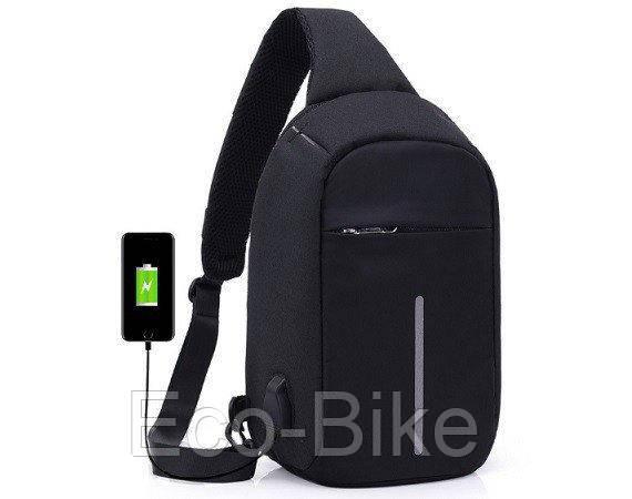Сумка Bobby mini через плечо антивор однолямочный мини городской рюкзак бобби