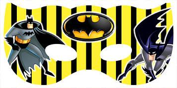 """""""Бетмен: полоска"""" - Маски"""