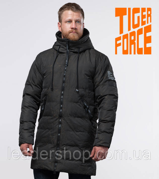 Tiger Force 52311   куртка зимняя мужская темно-зеленая