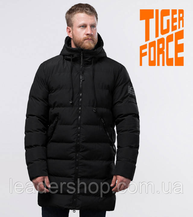 Tiger Force 54386   куртка зимняя мужская черная