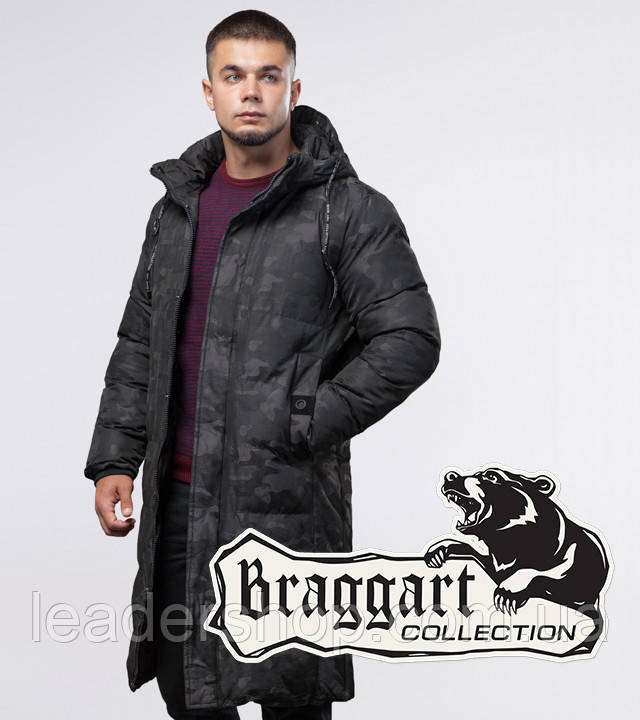 Braggart Youth   Зимняя куртка черная