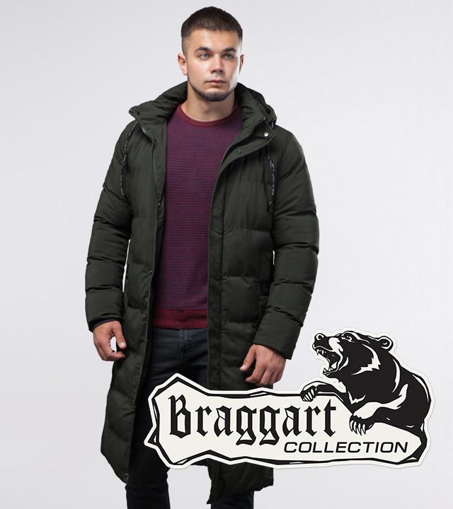 Braggart Youth | Куртка зимняя темно-зеленая