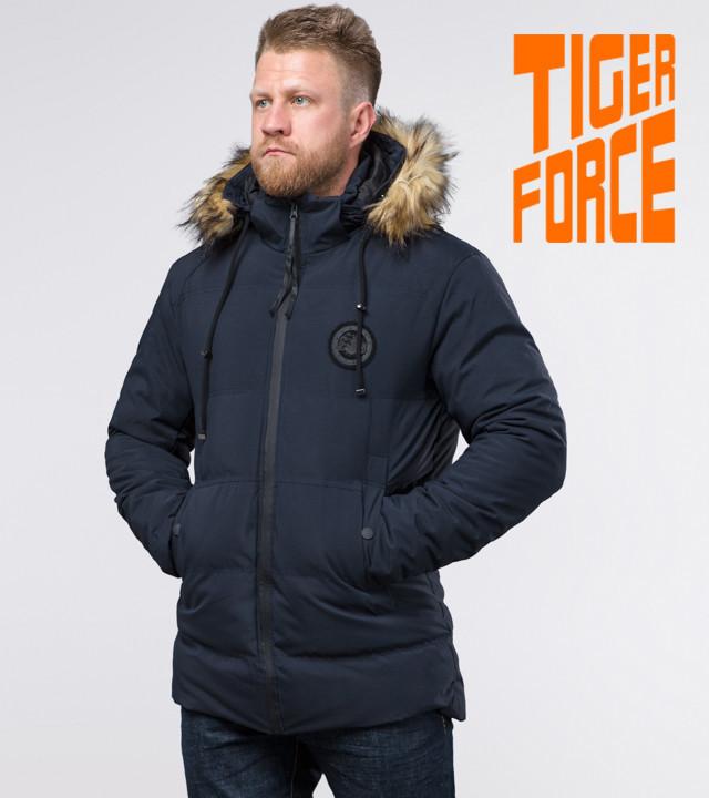 Tiger Force 55825 | зимняя мужская куртка синяя