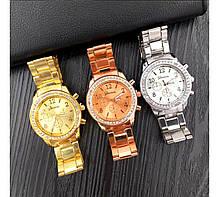 Часы женские Genevа Swarowski три цвета, фото 3