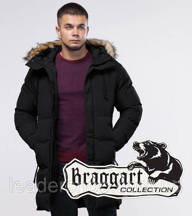 Braggart Youth | Зимняя куртка черная