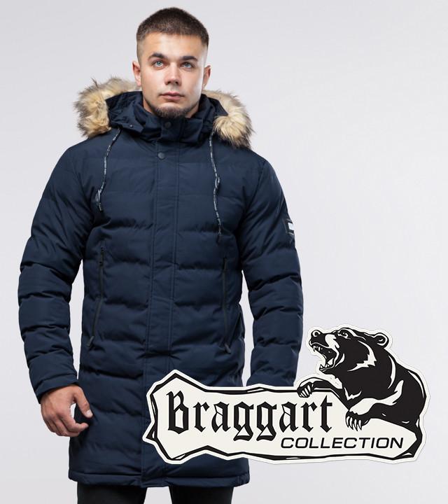 Braggart Youth | Зимняя куртка темно-синяя