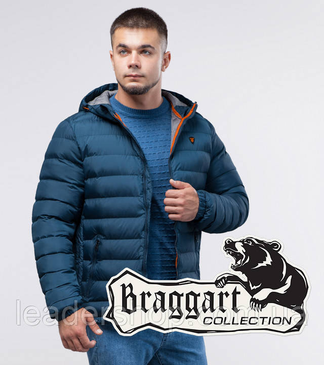 Braggart Youth | Куртка зимняя темно-бирюзовая