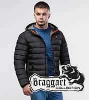 Braggart Youth | Зимняя легкая куртка черная, фото 1