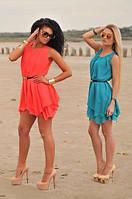 Красивое шифоновое платье на лето