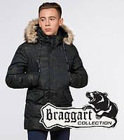 Braggart Youth   Куртка зимняя темно-зеленая, фото 1