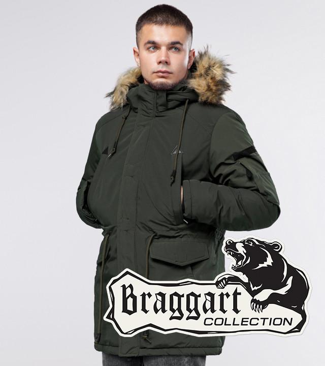 Braggart Youth | Зимняя парка темно-зеленая
