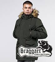 Braggart Youth | Зимняя парка темно-зеленая, фото 1