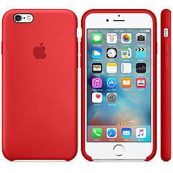 Силіконовий чохол Apple Silicone Case (PRODUCT) RED для iPhone 6 / 6s (premium)