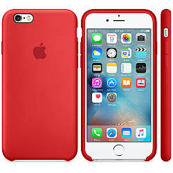Силиконовый чехол Apple Silicone Case (PRODUCT) RED  для iPhone 6 / 6s (premium)