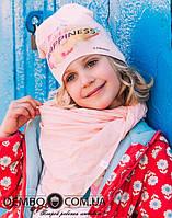 Детская шапка для девочек МИРАБЕЛЛА оптом размер 50-50-52-52, фото 1