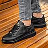 Мужские черные кроссовки Wagoon Чоловічі Кросівки Размер 40,41,42,44, фото 6