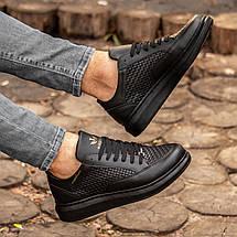 Мужские черные кроссовки Wagoon Чоловічі Кросівки Размер 40,41,42,44, фото 3