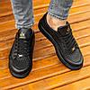 Мужские черные кроссовки Wagoon Чоловічі Кросівки Размер 40,41,42,44, фото 5