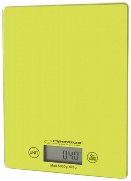 Ваги кухонні Esperanza EKS002G Lemon green