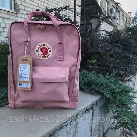 Рюкзак Fjallraven Kanken розовый, фото 2