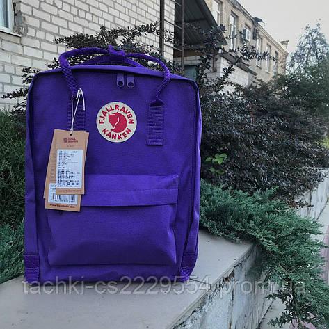 Рюкзак Fjallraven Kanken фиолетовый, фото 2