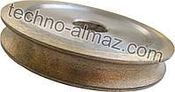 "Алмазный круг 1F6V 100 мм. R3 22 мм. (для стекла 4 мм. и 5 мм. ""под карандаш"")"