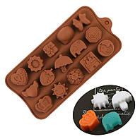 Форма силиконовая для льда и шоколада JSC-2778