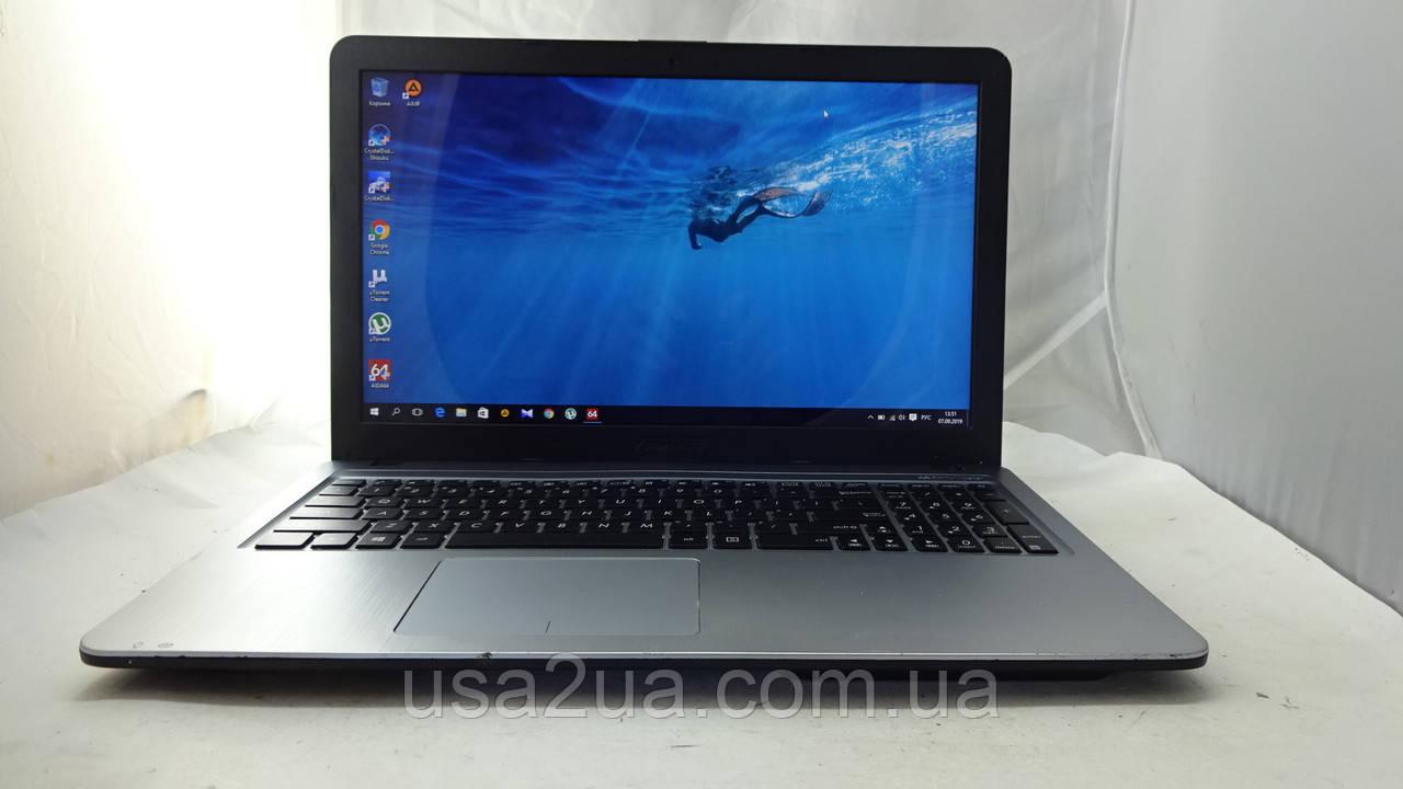 """15.6"""" Ноутбук Asus X540s QuadCore/750Gb/4Gb/WEB/Новая АКБ КРЕДИТ Гарантия Доставка"""