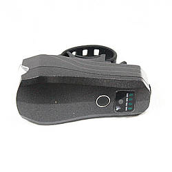 Фара з зарядкою під USB, модель 3599 Чорний корпус / з універсальним кріпленням на кермо