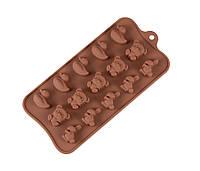 Форма силиконовая для льда и шоколада JSC-2767
