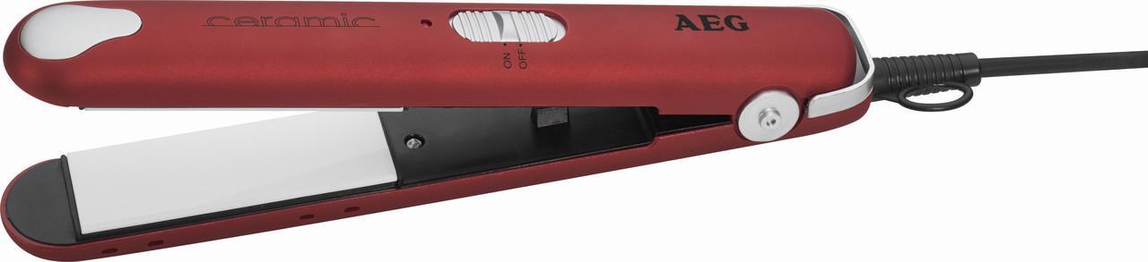 Випрямляч для волосся AEG HC 5680 (червоний)