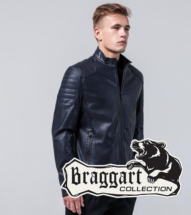 Мужская Осенняя куртка темно-синий