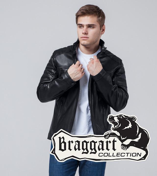 Мужская Осенняя куртка черный
