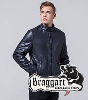 Мужская Куртка экокожа темно-синий, фото 1