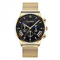 Мужские часы Cuena Versace gold
