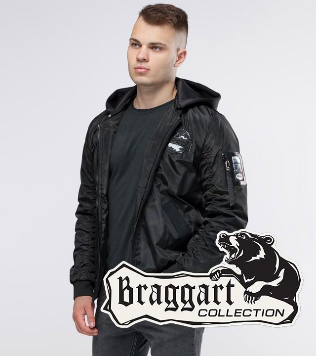 Мужская Куртка осенняя черный