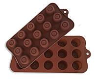 Форма силиконовая для льда и шоколада JSC-2765