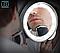 Зеркало гибкое для макияжа Flexible Mirror 10Х с LED подсветкой, фото 8