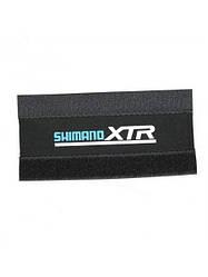 Защита пера / цепи SHIMANO XTR черная на липучке (ткань)