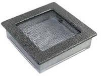 Каминная решетка темное серебро